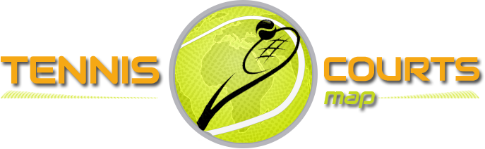 Tennis Courts map Logo