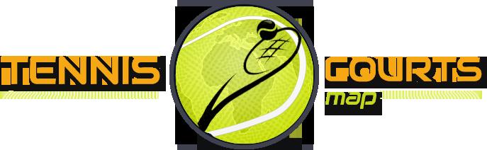 Tennis Courts map Logo
